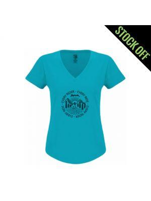 T-shirt SPIUK W3 Mulher - Azul (M)