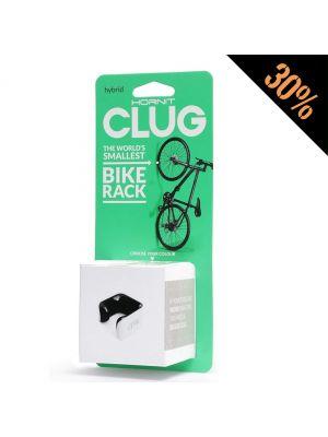 Suporte Parede Bicicletas HORNIT CLUG Hybrid - Branco & Preto (Medium)