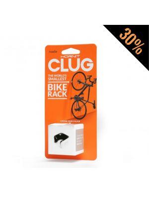 Suporte Parede Bicicletas Estrada HORNIT CLUG Roadie - Branco & Preto (Small)